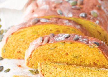 Recette aux légumes : le pain à la purée et aux graines de courge