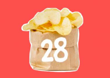 28 grammes de peaux mortes tous les mois