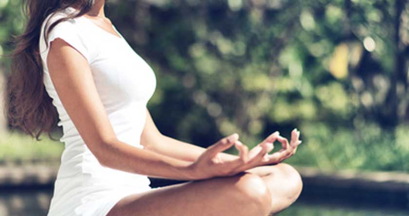 Je fais une pause avec la méditation