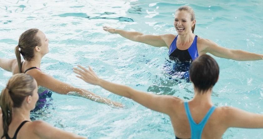 Aquagym, la gymnastique dans l'eau