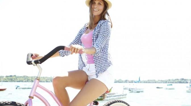Je redécouvre les joies de faire du vélo
