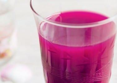 Cocktail betterave – poivron – framboise