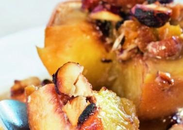 Je confectionne des pommes au four