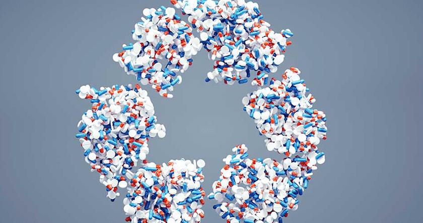 Le recyclage des médicaments non utilisés