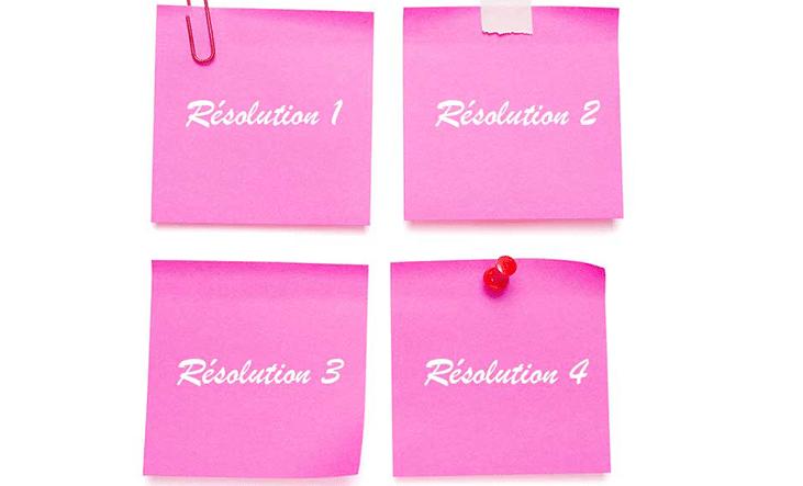 Comment bien tenir ses bonnes résolutions 2016 ?