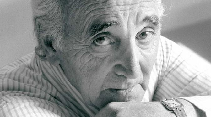 Charles Aznavour : « Le capital santé vaut bien quelques petits sacrifices ! »