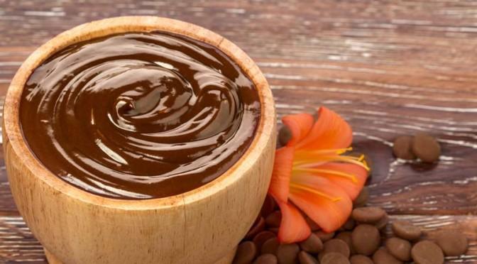 Masque éclat au chocolat