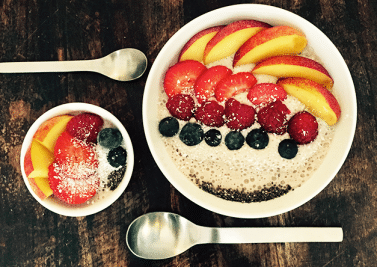Le smoothie bowl pechu