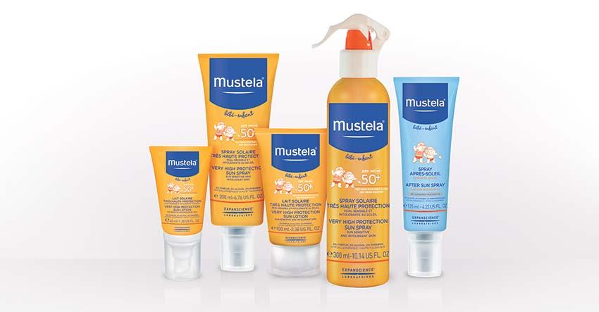 Mustela solaire,  la seconde peau des enfants