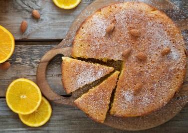 Gâteau des sportifs à l'orange