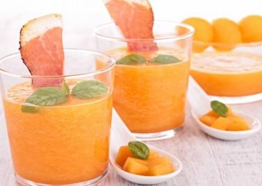 Soupe de melon épicée