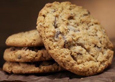 Cookies au miel et noisettes sans gluten