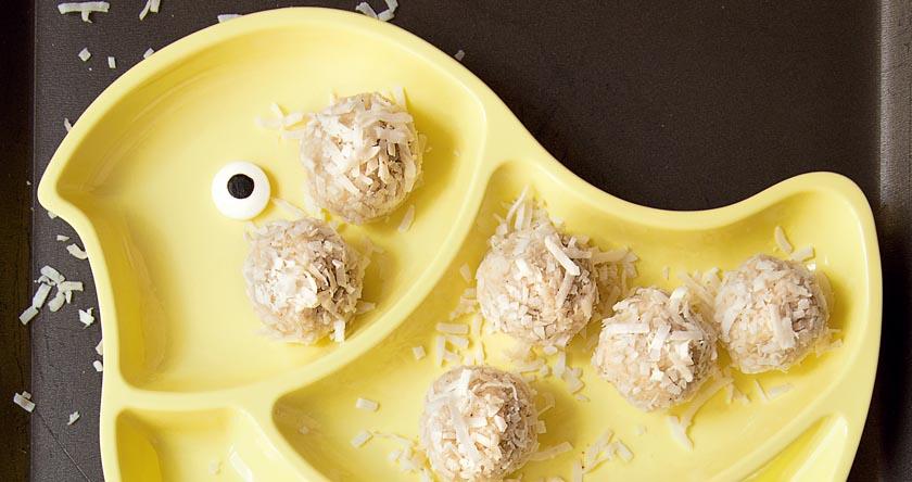Bouchées de noix de coco