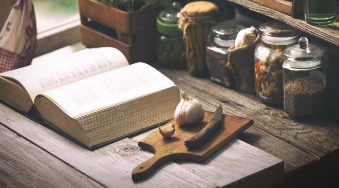 Des livres de cuisine pour voyager