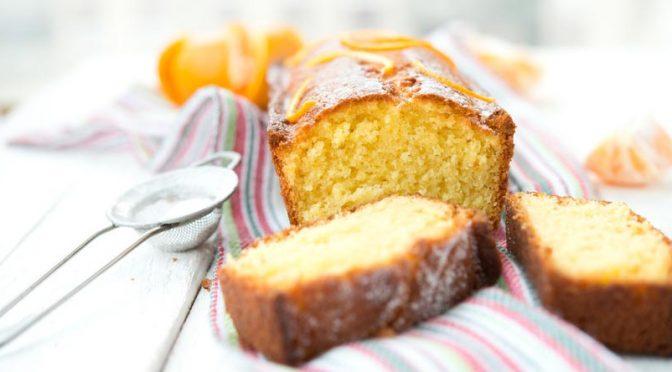 Cake parfumé à la clémentine