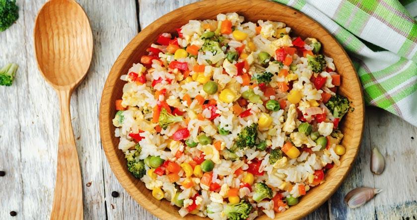 Riz aux légumes du soleil