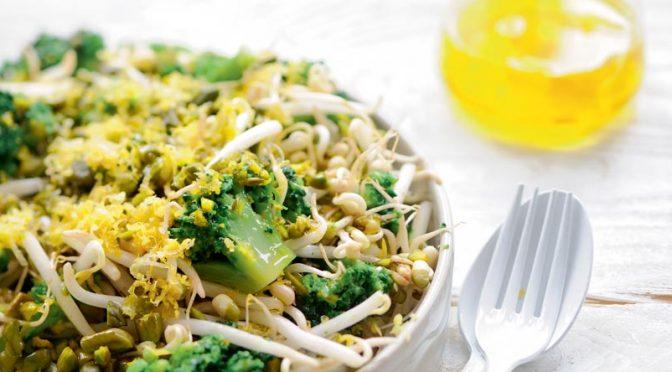 Recette aux légumes à base de brocoli
