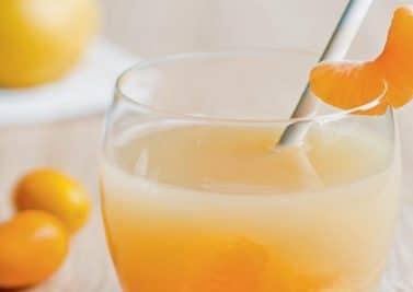 Détente vitaminée clémentine, poire, cannelle