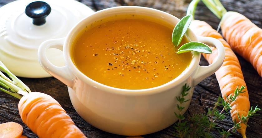 soupes de légumes