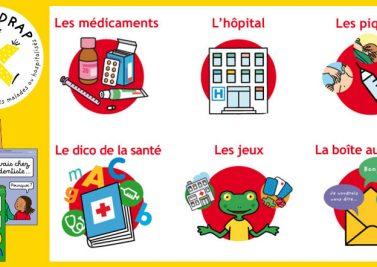 Le monde de la santé expliqué aux enfants