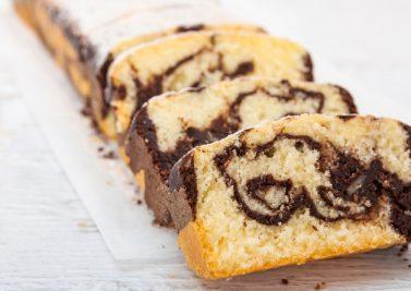 Le gâteau marbré au chocolat : design avant l'heure !
