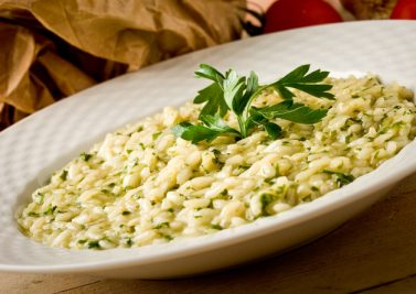 Risotto verde aux herbes