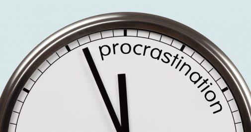 La procrastination est-elle un si vilain défaut ?