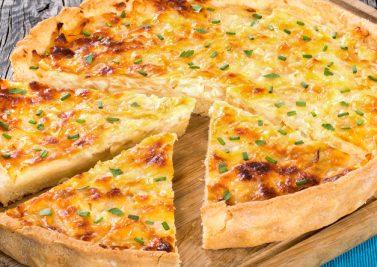 La tarte aux fromages : idéale pour recycler les restes