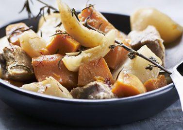 Tajine de veau aux patates douces