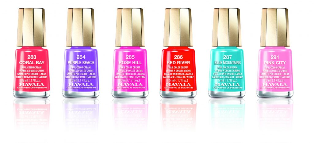 Collection vernis Color Inspiration MAVALA