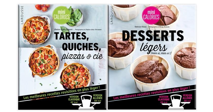 À nous les quiches et les gâteaux (avec 2 fois moins de calories !)