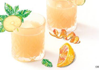 Agua Fresca Citron Pomelo Orange