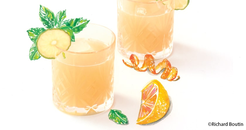 Agua Fresca Citron Pomelo Orange