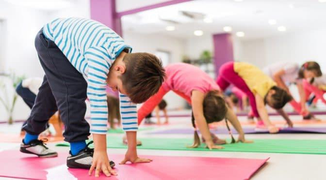 Mettez vos enfants à la gym