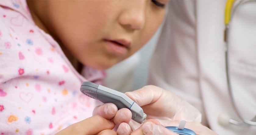 Le diabète chez l'enfant
