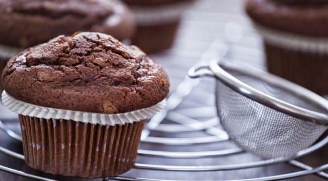 Muffins ultra chocolatés