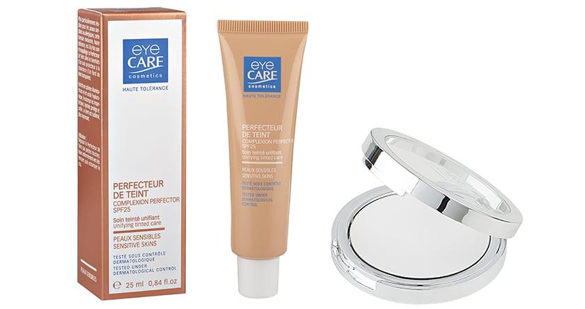 Maquillage et peaux fragiles