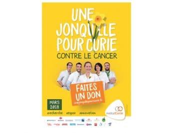 Une jonquille pour Curie : l'opération de lutte contre le cancer va débuter
