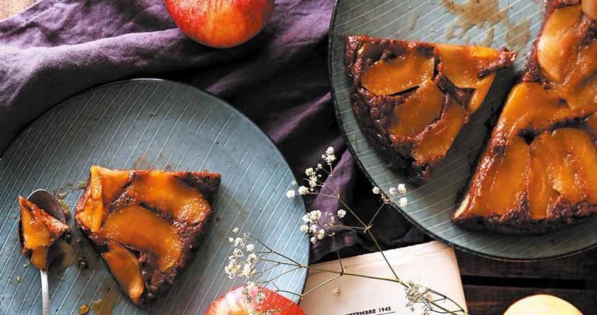 Pudding tatin pomme et chocolat