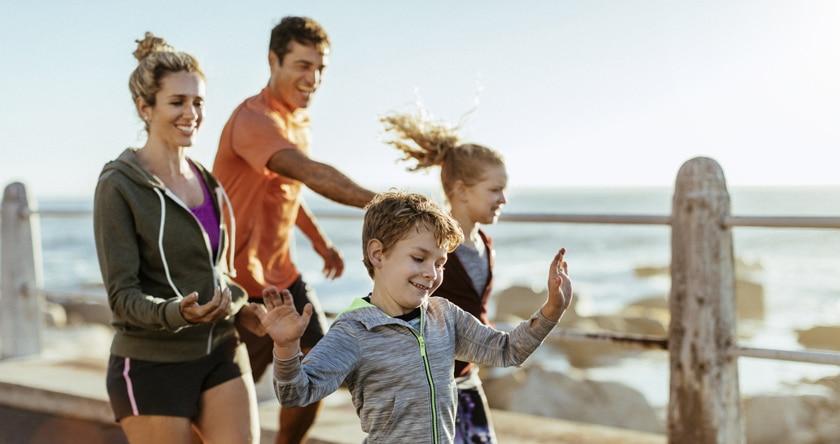 des exercices à pratiquer en famille