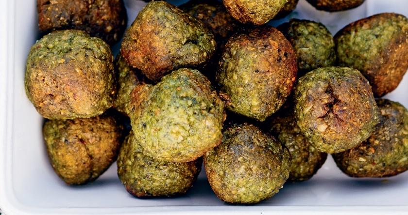 Balls poulet- épinards