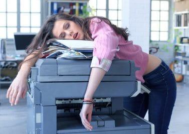 Stop à la somnolence au bureau