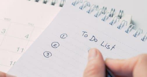 Au moins quatre bonnes raisons de faire des listes