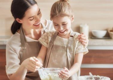 Gâteaux de mère en fille