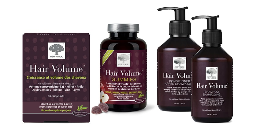 Hair volume par New Nordic, le rituel beauté in & out