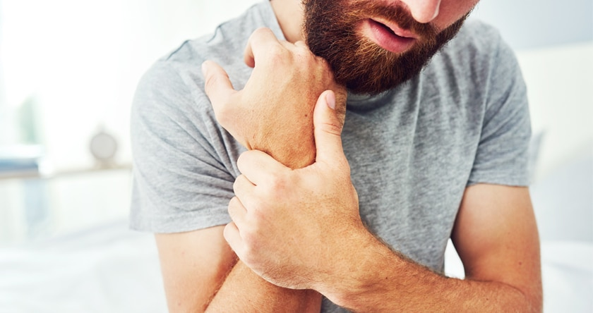 La tendinite du bras
