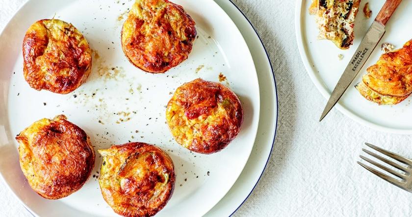 Œufs muffins aux légumes