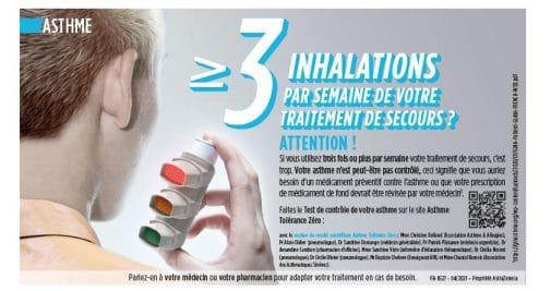 Tester votre asthme