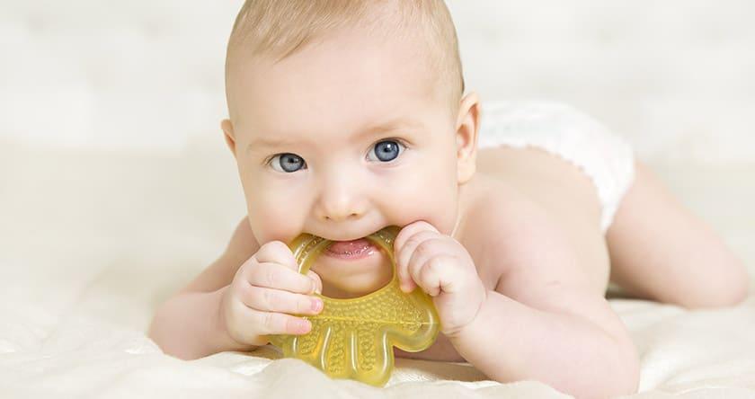 La poussée dentaire de bébé