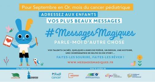 Des messages magiques à l'occasion du mois du cancer pédiatrique